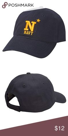 outlet store 71864 8a790 Navy Midshipmen Youth Epic Hat NWT OSFA NWT Ouray Accessories Hats