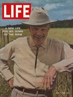 LIFE Magazine July 7, 1961 - A New Life for Ike: Eisenhower Down On The Farm