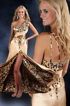 omg . cheetah print prom dress ! Perfect Prom Dress d6b463389