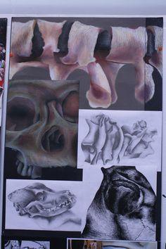 Higher Expressive Research Drawings Sketchbook Inspiration, Sketchbook Ideas, A Level Art Sketchbook, Art Alevel, Expressive Art, Anatomy Art, High Art, Art Studies, Art Portfolio
