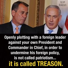 """""""In law, treason is the crime that covers some of the more extreme acts against one's sovereign or nation. """"A person who commits treason is known in law as a traitor. """"Oran's Dictionary of the Law (1983) defines treason as '...[a]...citizen's actions to help a foreign government overthrow, make war against, or seriously injure the [parent nation].' """" Just sayin'..."""