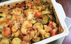 The Big Diabetes Lie- Recipes-Diet - Diabetic Low Carb Vegetable Bake Doctors at the International Council for Truth in Medicine are revealing the truth about diabetes that has been suppressed for over 21 years. Baked Vegetables, Low Carb Vegetables, Veggies, Diabetic Desserts, Healthy Snacks For Diabetics, Diabetic Meals, Pre Diabetic, Vegetarian Diabetic Recipes, Diabetic Friendly