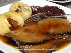 Sauerbraten, made in a slowcooker, makes this traditional German meal, an easy holiday feast. Check out http://www.quick-german-recipes.com/sauerbraten-recipe.html now!