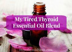 My tired thyroid essential oil blend