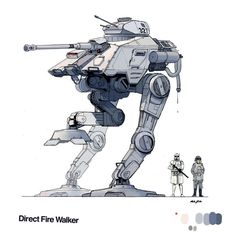 sketch of first order mech star wars - Google Search
