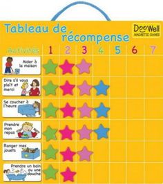 TABLEAU D'ETOILE A MOTIVATION