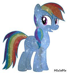 [MLP] Rainbow Dash Galaxy's Power by MixiePie on DeviantArt My Little Pony Unicorn, Hasbro My Little Pony, My Little Pony Comic, Rainbow Dash, Crystal Ponies, Little Poni, Cute Ponies, M Anime, Mlp Fan Art