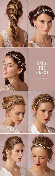 #wedding #bride #bridal #romantic #hairstyle #hairdo #decoration