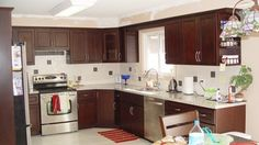 O'Neil Cabinets Chocolate Kitchen contemporary-kitchen-cabinets