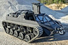 Ripsaw all terrain vehicle tracked