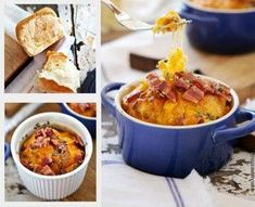 Breakfast Bread Pudding - Using Hawaiian Rolls. an AWESOME method to prepare your favorite breakfast! Breakfast Bread Puddings, Bacon Breakfast, What's For Breakfast, Breakfast Items, Breakfast Bowls, Breakfast Recipes, Breakfast Casserole, How To Cook Sausage, Sausage Spices