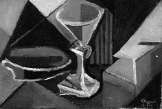 Still life with a glass By Youla Chapoval