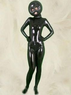 Full Body Latex Zentai Catsuit