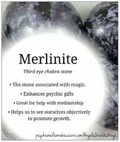 Merlinite Bracelet: Stone of Magic Increase Intuition Opal