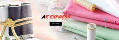 Experience our premium thread 🧵 products directly from the source! You can shop online with A&E Express. Choose from a hand selected collection and enjoy 😊 free shipping! Click below to start shopping 🛍   #aeexpress #expressyourself #sewquick #ppe #freeshipping #madeinusa #gutermann #intressa #signaturethread America, Free Shipping, Sewing, How To Make, Shopping, Collection, Products, Dressmaking, Couture