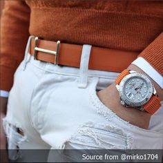 Orange and blue | Raddest Men's Fashion Looks On The Internet: http://www.raddestlooks.org