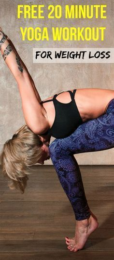 Want to get toned with a yoga workout for weight loss at home? Then this simple yoga routine created by fitness experts is exactly what you need to lose belly! This workout plan comes with free video instructions for beginners. Beginner Fitness exercises #exerciseforbeginners