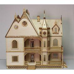 Jasmine Gothic Victorian 1:24 Scale Dollhouse Kit