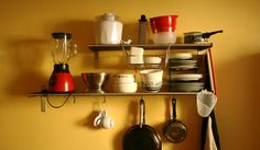storage solutions for tiny kitchens | Organisation Tips for Small Kitchens | Drawdrobe