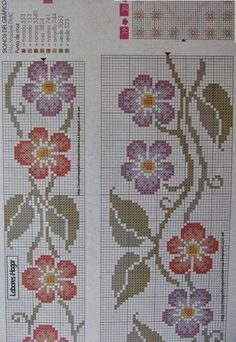 Thrilling Designing Your Own Cross Stitch Embroidery Patterns Ideas. Exhilarating Designing Your Own Cross Stitch Embroidery Patterns Ideas. Cross Stitch Rose, Cross Stitch Borders, Cross Stitch Flowers, Cross Stitch Designs, Cross Stitch Patterns, Crochet Flower Patterns, Hand Embroidery Patterns, Diy Embroidery, Cross Stitch Embroidery