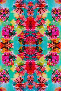 loving these bright colors for summer #floral #neon