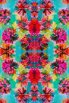 ✢ STYLE ✢ Viva México | Tropical Floral Art Print  - Amy Sia