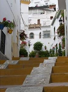 The village Torrox, Andalucía, Spain