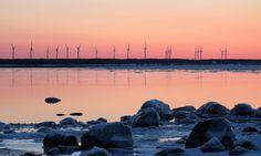 Paldiski wind farm in Estonia. Read about it on the Global Wind Day blog.