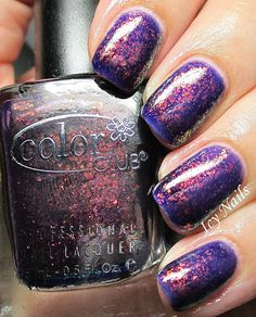Icy Nails: Color Club The Uptown: Swatch and Review.\