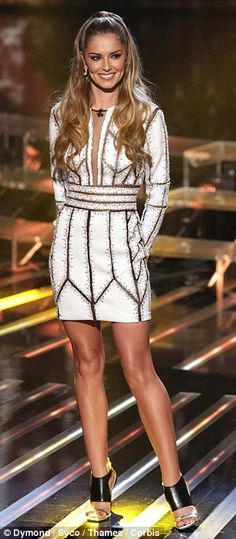 At least it's not Kermit's: Cheryl Fernandez-Versini steals Ariana Grande's style on The X Factor