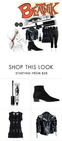 """2017 Beatnik Style, Yeah Man"" by michelle858 ❤ liked on Polyvore featuring Eyeko, Chanel, The Row, Calvin Klein Collection, Leka, MAC Cosmetics, modern and contemporary"
