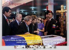 À ESPERA DE UMA NOVA REFERÊNCIA  Com a morte de Hugo Chávez, Venezuela tem futuro indefinido, assim como sua estratégia de política internacional    Acesse: http://issuu.com/revistaamplo/docs/amplo1/6