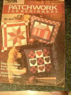PATCHWORK for Beginners Jean Wells 1988
