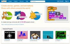 Scratch is a free programming language and online community where you can create your own interactive stories, games, and animations. Teaching Kids To Code, Kids Learning, Stem Teaching, Teaching Resources, Basic Programming, Computer Programming, Best Free Apps, Interactive Stories, Coding For Kids