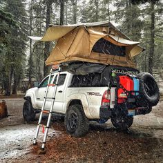 "243 Likes, 19 Comments - Adventure and Overland Tacoma (@edgeofexploration) on Instagram: ""#tbt to this setup! I spy one thing we have not upgraded! What is it? #throwbackthursday #ispy . .…"""