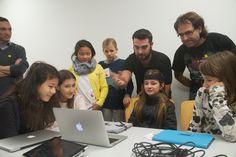 Impresionadas con la realidad virtual en la #GirlsHack