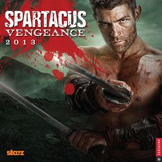 Spartacus Wall Calendar: The tale of Spartacus resumes in epic fashion in the Spartacus 2013 Wall Calendar: Vengeance—the house of Batiatus lies in ruins, the gladiators are free, and the Roman Republic will pay.  $13.99  http://calendars.com/Action-and-Adventure/Spartacus-2013-Wall-Calendar/prod201300000429/?categoryId=cat00057=cat00057#
