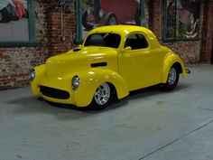 1941 Willy's Outlaw Body Custom Drag Car For Sale