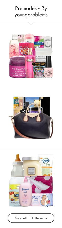 """""""Premades - By youngproblems"""" by youngproblems ❤ liked on Polyvore featuring premade, bags and premades"""