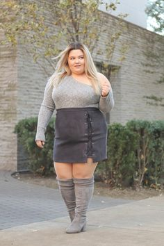 Plus Size Fashion for Women Plus Size Fashion Blog, Plus Size Fashion For Women, Plus Size Women, Plus Fashion, Fat Fashion, Curvy Outfits, Plus Size Outfits, Plus Sise, Fashion Nova Curve