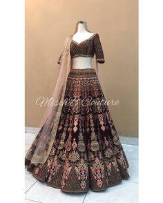 Jcreations's Shop - Buy Sarees, Kurtas, Lehenga Cholis Online on MyShopPrime Indian Wedding Wear, Indian Bridal Outfits, Indian Bridal Lehenga, Indian Bridal Fashion, Indian Designer Outfits, Bridal Dresses, Indian Attire, Indian Ethnic Wear, Pakistani Dresses