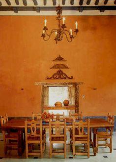 Hacienda Style kitchen/dining room