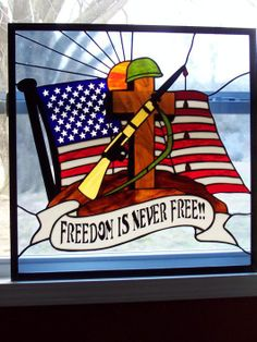 Freedom Is Never Free - by Sherri Shuck Arnold