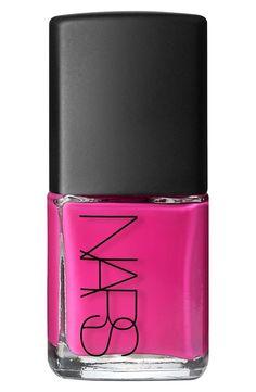 Love the vibrant high-gloss finish of the Nars 'Iconic Color' nail polish.