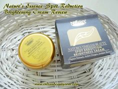 Nature's Essence Spot Reduction Brightening Cream Review
