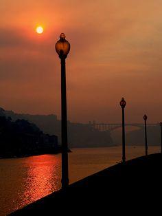 Pôr do Sol no Porto www.webook.pt #webookporto #porto #bestviews