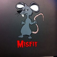 Misfit Rat hand painted on a CJ8 Jeep  #vanepinstriping
