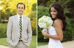 Individual bride and groom shots