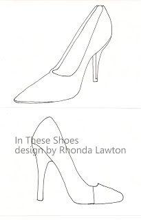 high heel shoe design template - high heeled gumpaste shoe template free wordpress