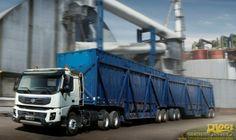 Volvo FMX - Volvo leva caminhões, máquinas, motores e soluções financeiras para Agrishow 2014